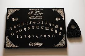 black madame devallia spirit board wood carved ouija board