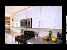 High Gloss White Kitchen Cabinets YouTube - High kitchen cabinets