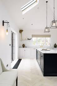 modern farm kitchen lofty modern farmhouse kitchen with shaker cabinets u0026 skylights