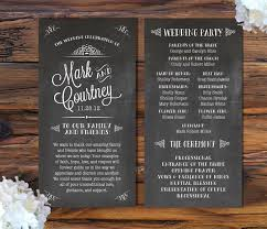 chalkboard wedding program template 634 best wedding stuff images on wedding stuff