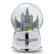 bloomingdale s new york snowglobe bloomingdale s