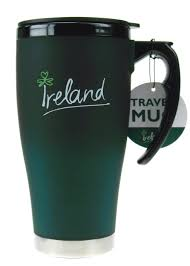 large travel mug with handle ireland collection