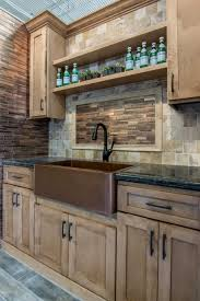 kitchen backsplash tile aged copper aria metal mosaic tile https
