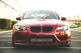 Bmw M3 Red - bmw m3 e92 red bmw red front parking building sky hd wallpaper