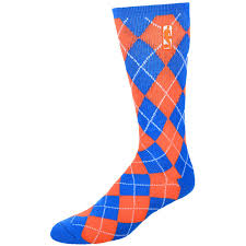 s nba logo royal blue orange day socks nba store