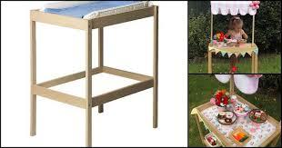 Sniglar Change Table 12 Awesome Ikea Hacks For
