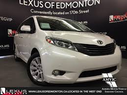 lexus minivan 2015 used white 2015 toyota sienna xle 7 pass awd in depth review