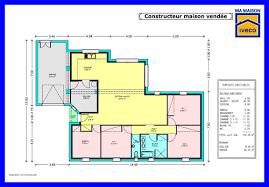 plan maison contemporaine plain pied 4 chambres constructeurvendee plans de maisons