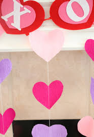 heart decorations diy it crepe paper heart decorations a kailo chic