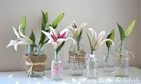 jar vases refashioned jar flower vases allfreeholidaycrafts