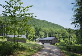 architect aging in place the berkshires modern barn images with