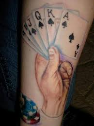 royal flush plus 1 u2013 tattoo picture at checkoutmyink com