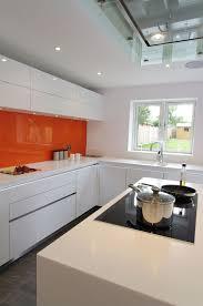 kitchens with orange color scheme burnt orange kitchens orange