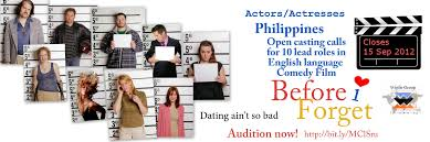 philippine open casting calls for 10 lead roles in new feature film