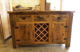 Reclaimed Wood Buffet Wine Rack In Kitchener Ontario Home Blog - Kitchener wine cabinets
