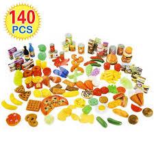 jeux de simulation de cuisine 140 pcs enfants de coupe fruits légumes jeux de simulation de