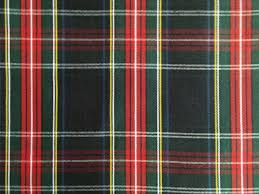 60 inch wide black stewart tartan plaid fabric upholstery home