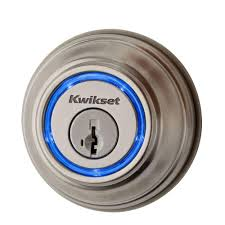 kwikset kevo 2nd gen single cylinder satin nickel touch to open