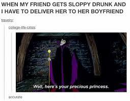 Sleeping Beauty Meme - at least she looks fabulously drunk in that elegant dress disney