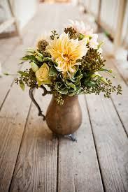 Vintage Vases Wedding Delightfully Simple Wedding In Paso Robles California Vintage