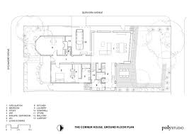 Corner House Floor Plans The Corner House Poly Studio Archdaily
