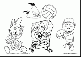 surprising volleyball sports coloring pages with volleyball