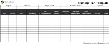 Six Sigma Project Charter Template Excel Free Six Sigma Tools