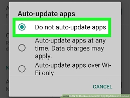 how to turn auto update on android how to disable automatic app updates on android 5 steps