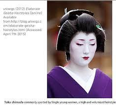 Geisha Hairstyles P M P Geisha Designs