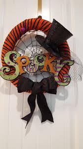 Halloween Wreaths Ideas by Halloween Wreath More Halloween Decor Pinterest Wreaths