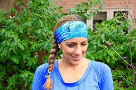 where to buy headbands buy 2 get 1 free headband dotted blue fitness headband