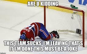Hockey Goalie Memes - hockey goalie on face memes imgflip
