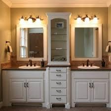 Bathroom Recessed Lights Bathroom Great White Vanity Hutch Recessed Lights Diy