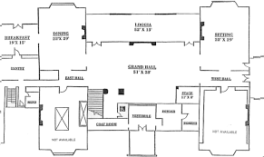 Home Plans With Cost To Build House Floor Plans New Canaan Waveny House Floor Plan House Floor