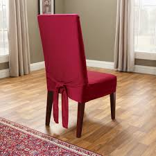 red dining room chair red