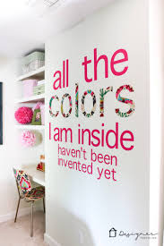 diy custom wall decals that will make you swoon designer