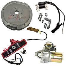 amazon com new honda gx270 9hp electric start kit starter motor
