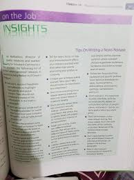 tips on writing a paper a after reading chapter 14 prepare a news release chegg com on the job insights tips on writing a news release and simple and incorporate tell