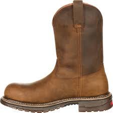 rocky original ride men u0027s composite toe roper western boots