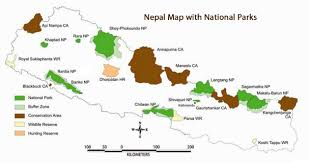 Map Of Nepal And India by Geography Of Nepal Nepal Geography