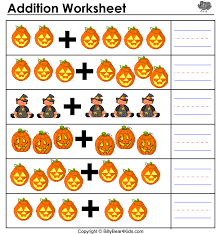 kindergarten halloween math worksheets worksheets
