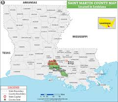 map of st martin st martin parish map louisiana