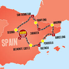 Spain Map World by Taste Of Spain Expat Explore