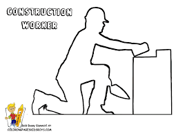 gritty construction coloring pictures free construction women