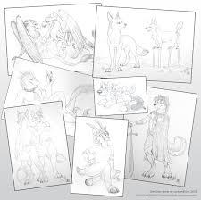 convention sketches part 2 u2014 weasyl