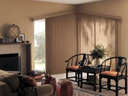 Vertical Blinds Room Divider Architecture Sliding Glass Door Blinds In Modern Living Room With