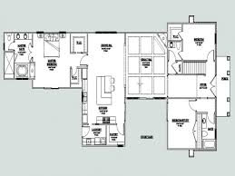 u shaped one story house plan with courtyard lrg l remarkable