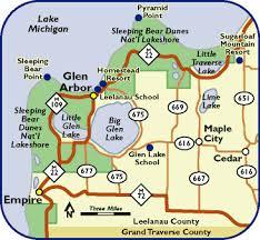 map of arbor glen arbor michigan map michigan map