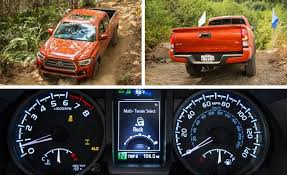 toyota tacoma manual transmission review 2016 toyota tacoma drive review car and driver 2016