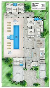 Monsterhouseplans Villa Zeno Narrow Floor Plans Texas Style Floor Plans Plan